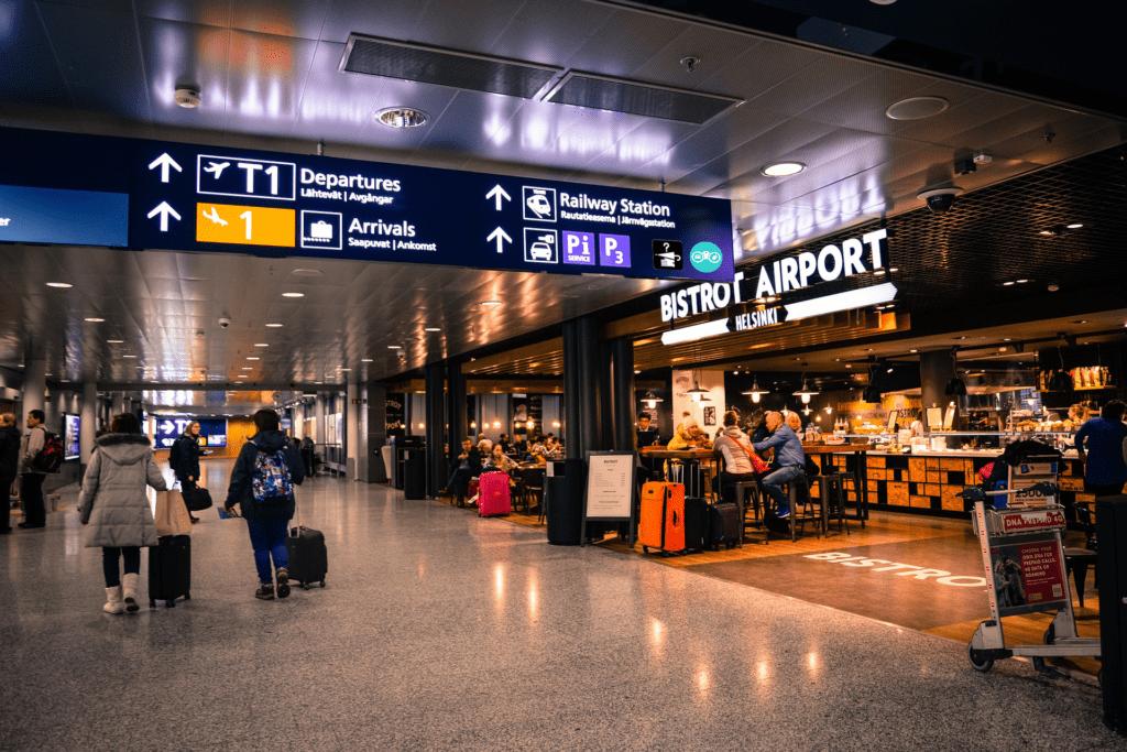 Aeropuerto - consejos para los objetos perdidos y encontrados